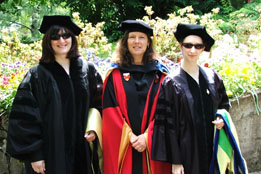graduation 2006: Lisa Cromer, Rose Barlow